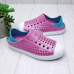 Skechers Girl's Guzman Steps Hot Pink Turquoise 2Y